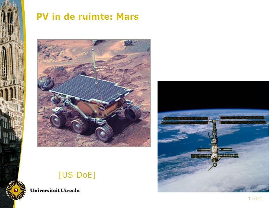 PV in de ruimte: Mars [US-DoE]